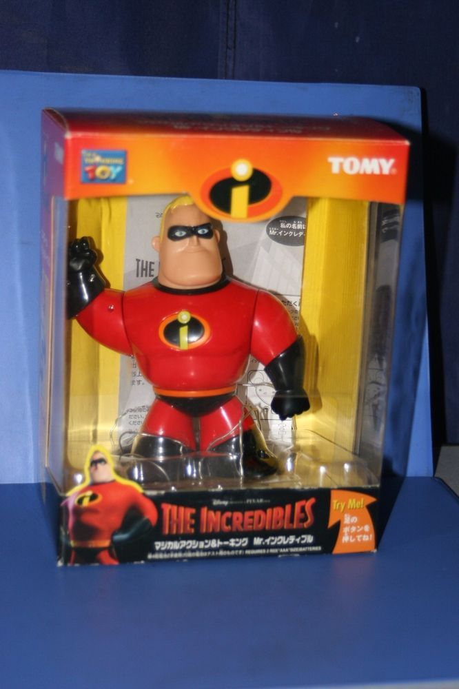 DISNEY The INCREDIBLES Figure Action&Talking doll TOMY JAPAN  | eBay