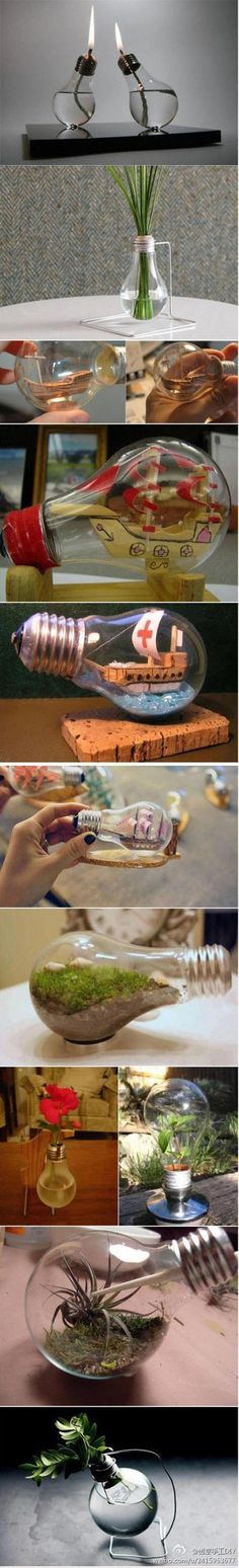 Beautiful Light Bulb Crafts   DIY & Crafts Tutorials
