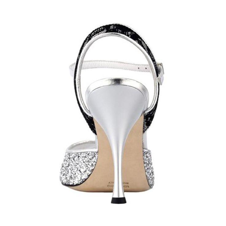 TANGOLERA A1 ARGENT-T9<br>Chaussure de tango