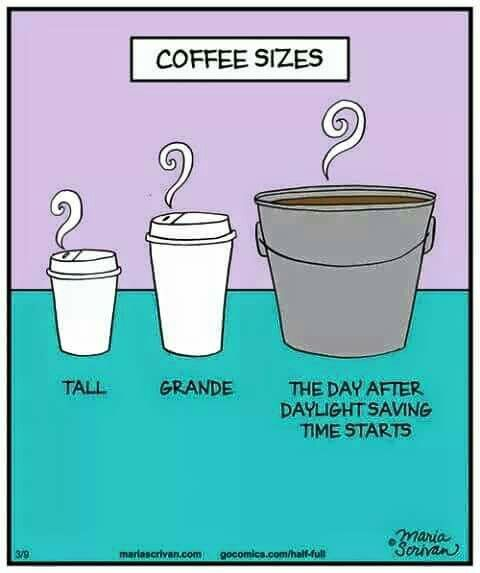 Coffee sizes (I love The Day After!)