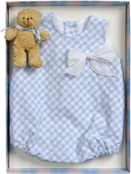 Ropa Bebes | Pelele de cuadros para niño | Tienda de ropa para bebés - Anibebe