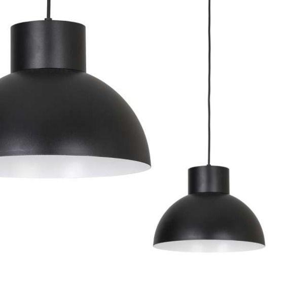 LAMPA wisząca WORKS 6613 Nowodvorski industrialna OPRAWA metalowa ZWIS kopuła HIGH BAY czarna