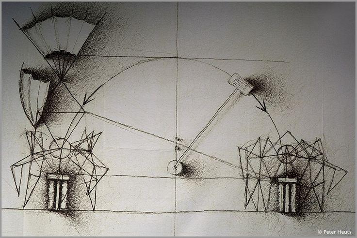theo jansen strandbeests drawings - Google-Suche