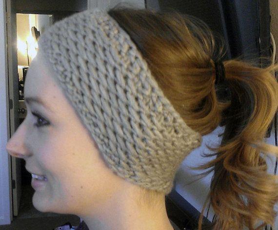 Honey Headband / Ear Warmer Knitting Pattern from SaraMarieCreations shop on Etsy.com $3