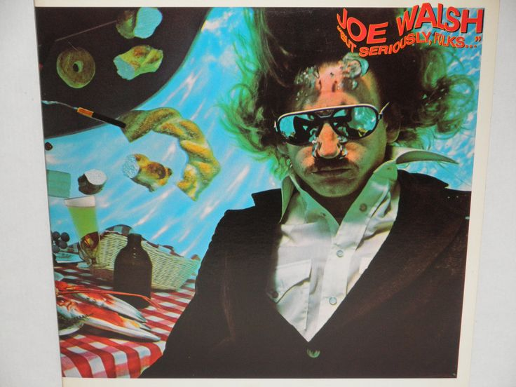 "Joe Walsh - But Seriously Folks - ""Life's Been Good"" - Original Pressing Asylum Records 1978 - Vintage Gatefold Vinyl LP Record Album"