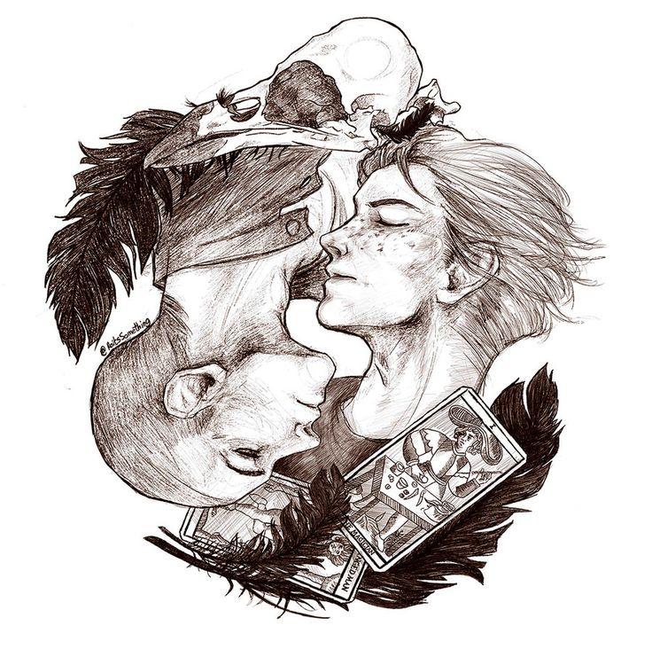 The Raven Boys - Ronan Lynch and Adam Parrish by RoItsSomething.deviantart.com on @DeviantArt
