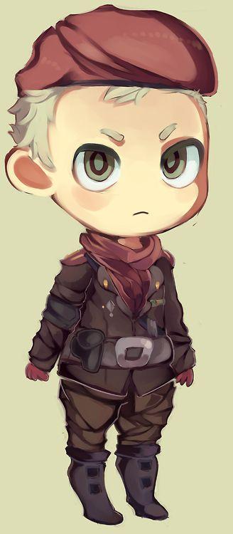 Metal Gear Solid Ocelot. I love Ocelot, he's such a funny bastard...