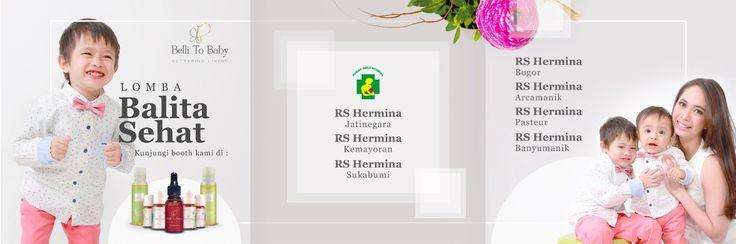Belli To baby hadir di acara LOMBA BALITA SEHAT  Kunjungi booth kami di  RS HERMINA JATINEGARA - RS HERMINA KEMAYORAN - RS HERMINA SUKABUMI - RS HERMINA BOGOR - RS HERMINA ARCAMANIK - RS HERMINA PASTEUR - RS HERMINA BANYUMANIK  Minggu, 8 Oktober 2017 08:00 - 14:00 WIB  Hanya 1 hari lho, Moms 😊  #bellitobaby #betteringliving #essentialoil #naturaloil #healthylife #healthyfam #eventhermina