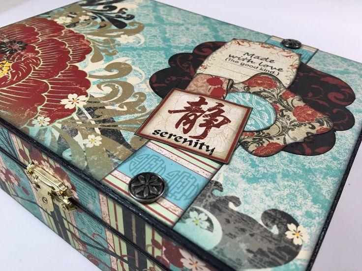 Gift idea: Altered Tea Box   Creator's Image Studio