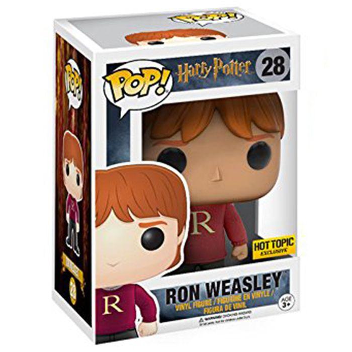 Figurine Ron Weasley sweater (Harry Potter) - Funko Pop