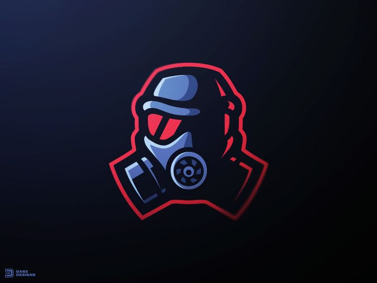 """Havoc Gaming"" - A Gas Mask Logo that originally started out as a practice concept that emerged into an actual e-sport teams logo design!"