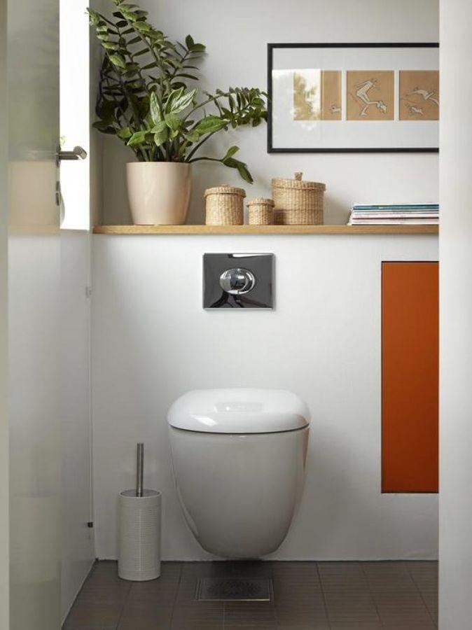 M s de 25 ideas incre bles sobre inodoro suspendido en for Estanteria sobre wc