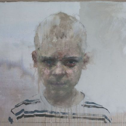 Nathan Ford Reuben 9.15, Oil on canvas 97 x 180 cm