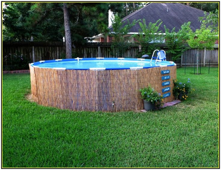 885 best water images on pinterest ground pools swimming pools and backyard ideas - Above ground pools for small spaces model ...