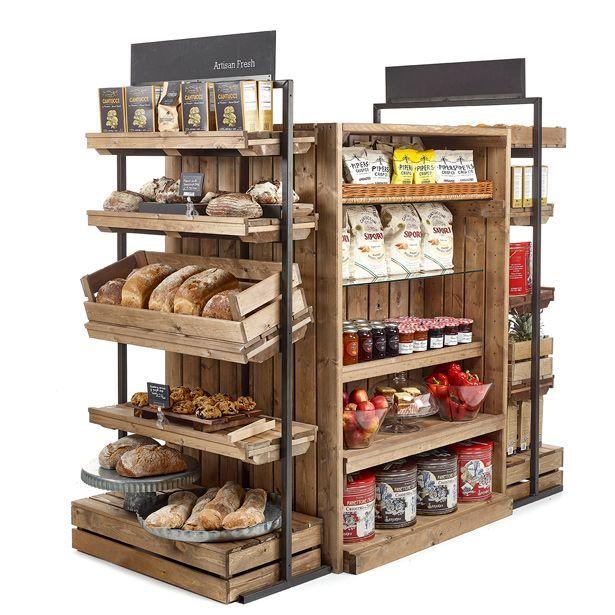 Artisan Crate Shop Interiors Creative Rustic Shop Fitting Displays Shop Interiors Shop Shelving Artisan Crates
