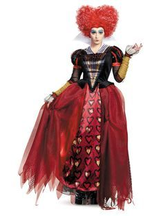 Check out Alice Through The Looking Glass Women's Red Queen Deluxe Costume - TV & Movie Womens Costumes from Wholesale Halloween Costumes
