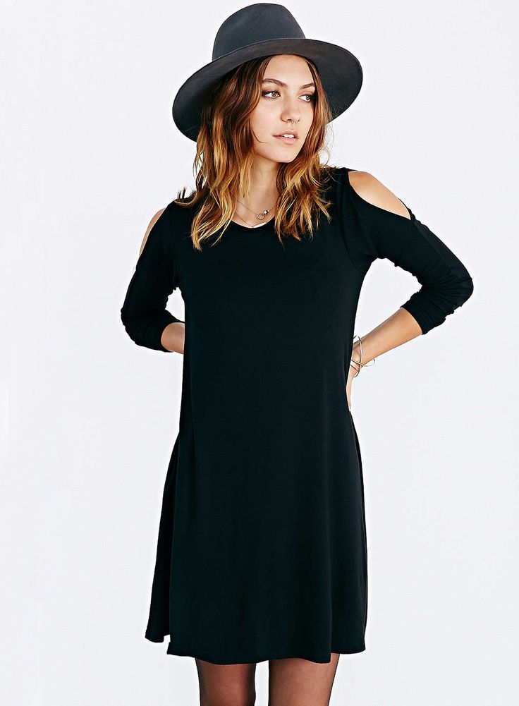 Shop Black Off The Shoulder Long Sleeve Casual Dress online. Sheinside offers Black Off The Shoulder Long Sleeve Casual Dress & more to fit your fashionable needs. Free Shipping Worldwide!
