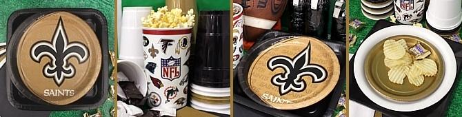NFL New Orleans Saints Party Supplies