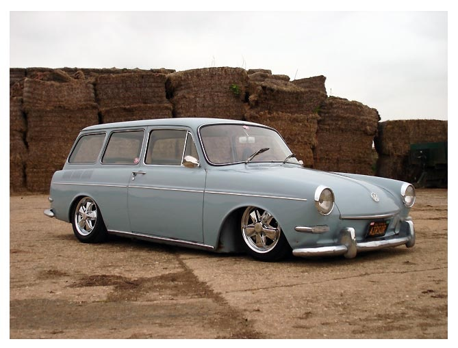 VW Variant - my first car was a VW Squareback names Naggie