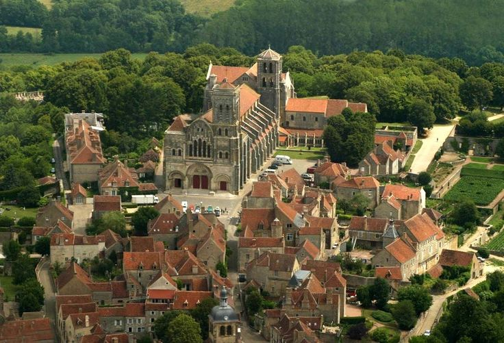 Vezelay, Bourgogne