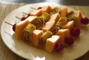 Los mejores platos con frutas para los días de calor.