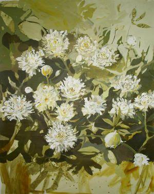 Akrylic on canvas by Lena Hautoniemi