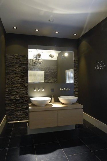 #Contemporary #Bathroom - www.remodelworks.com