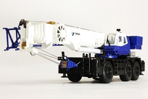 New Tadano 1/50 GR1600XL/1450EX Rough Terrain Crane Diecast Model From Japan 180 #Tadano #Tadano