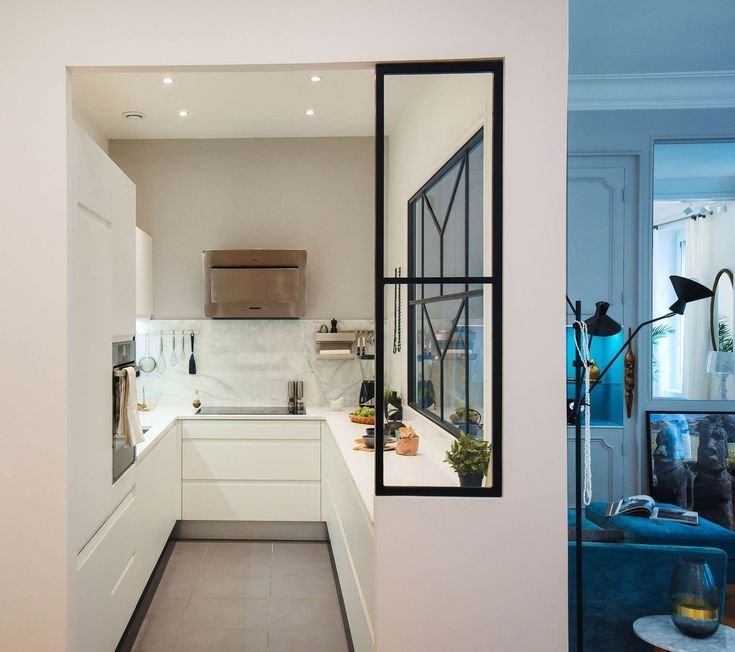 Initially L Shaped The Kitchen Took The Form Of A U With This Return M Kitchen Design Small Home Kitchen Design
