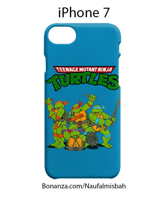 Teenage Mutant Ninja Turtles iPhone 7 Case Cover Wrap Around