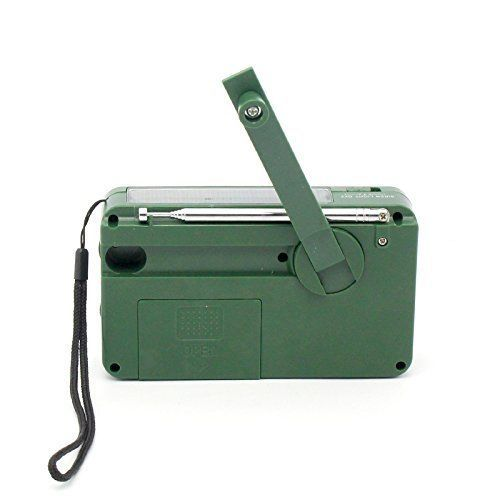 Emergency Solar Hand Crank Weather Radio Flashlight Cell Charger USB Xmas Gift #iRonsnow