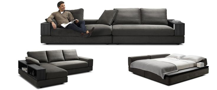 Same couch (the one I want) in black. Jasper by King Furniture