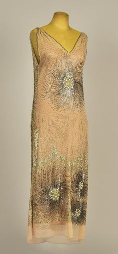 Evening dress, 1924 From Whitaker Auctions