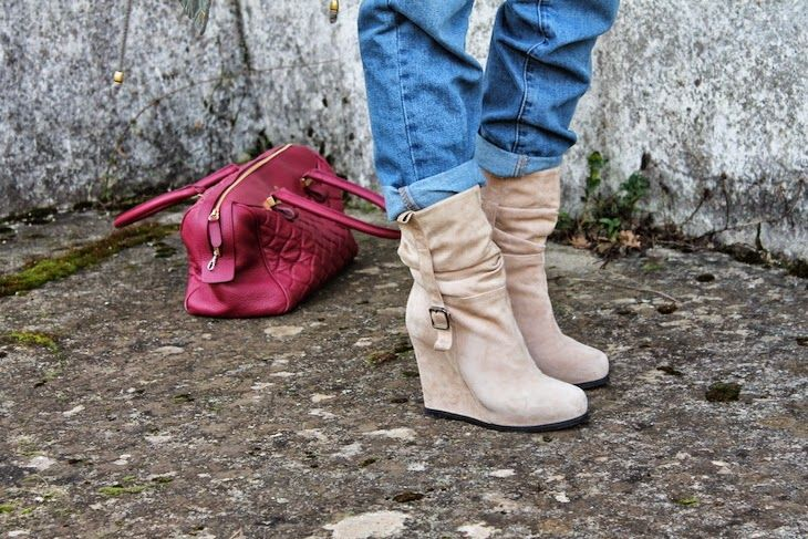 #shoes #pink #red #anckleboots #booties #pink pastel