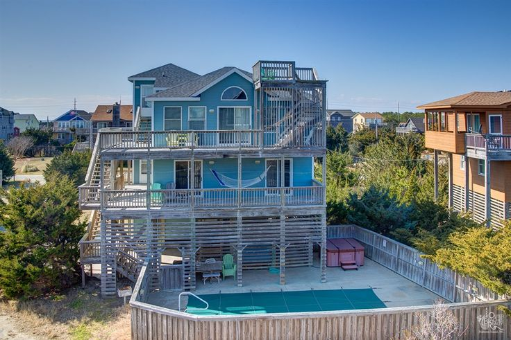 Beach Boys 667 is a 5 bedroom, 3 bathroom Semi Oceanfront vacation rental in Salvo, NC. See photos, amenities, rates, availability and more details to book today!