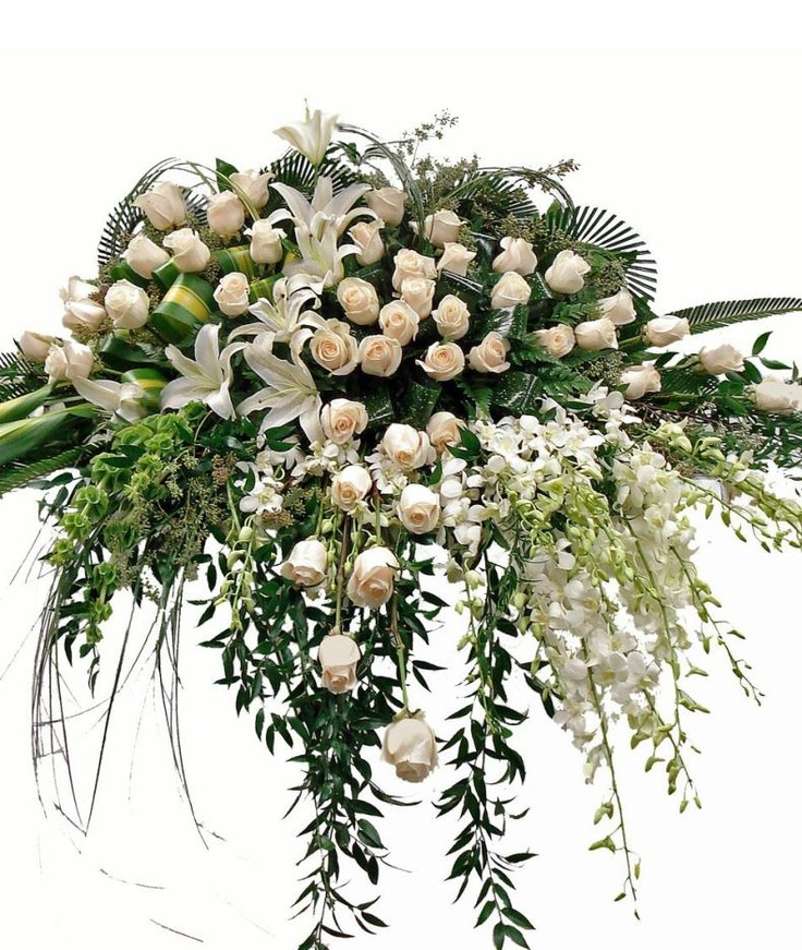 Funeral Flowers | Sympathy Flower Arrangements Mansfield ...