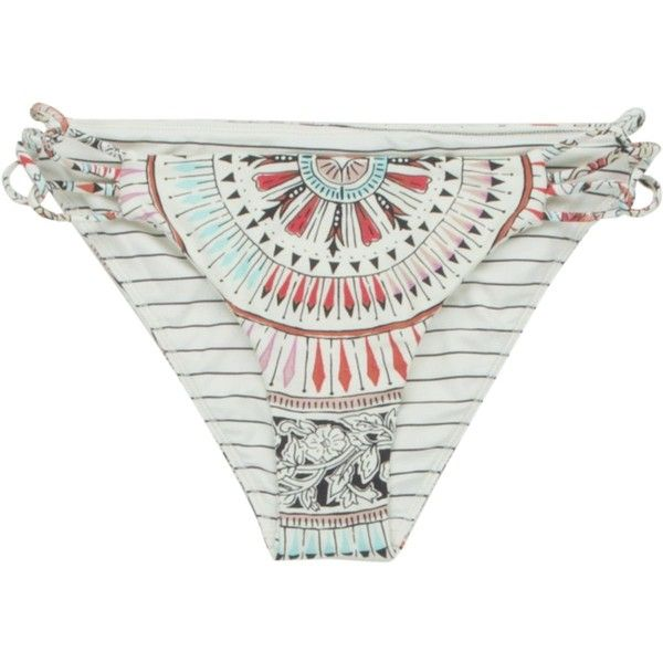 Billabong Majestic Spirit Reversible Tropic Bikini Bottom ($30) ❤ liked on Polyvore featuring swimwear, bikinis, bikini bottoms, bathing suits, beach wear, billabong bikini, slimming bikinis, swimsuits bikinis and bathing suits bikini