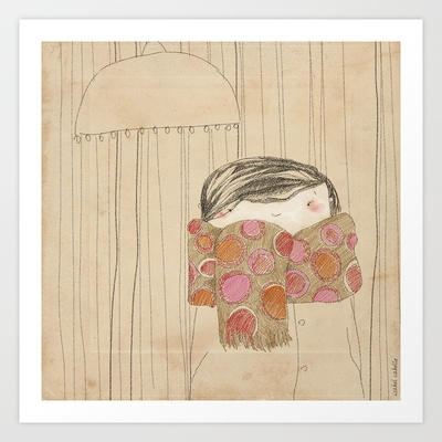 Luisa Art Print by Isabel Cabello - $19.76
