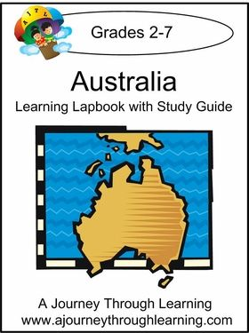 Topics in our Australia lapbook include: Geography and Climate, Different Regions, Government, People, Major Ethic Groups, Language, Religion, Animals, Holidays and Traditions, Foods, and Craft Ideas. #homeschool #lapbooks