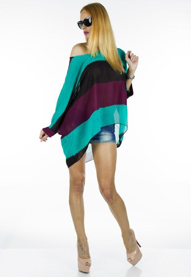 Bluza Dama Large Veil  Bluza dama in trei culori, din material lejer, ce poate fi purtata in sezonul cald. Este ideala pentru mai multe tipuri de silueta.     Compozitie:100%Poliester