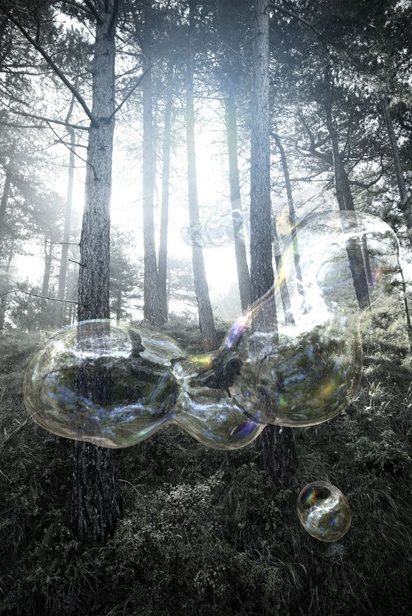 cgi - bubble l - 3d generated bubble with spherical reflections,... - michel wielick photography & cgi | 3D | digital artist | cg stills | h...