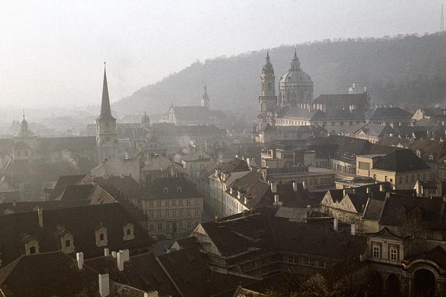 cca 1977 Praha Malá Strana