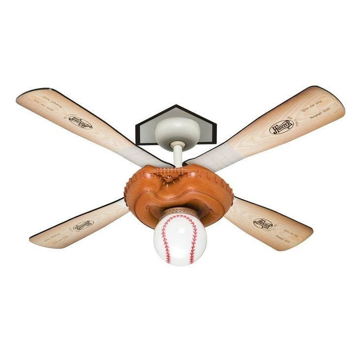 Hunter Baseball Ceiling Fan Globe