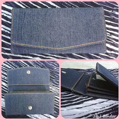 Nama  Produk : Dompet Motif Jeans Biru Harga : 50rb  Ukuran   : 20cmx35cm  Bahan : Kulit Sintetis Bentuk  Dompet : Lipat 3 ,1 slot foto, 3 slot card
