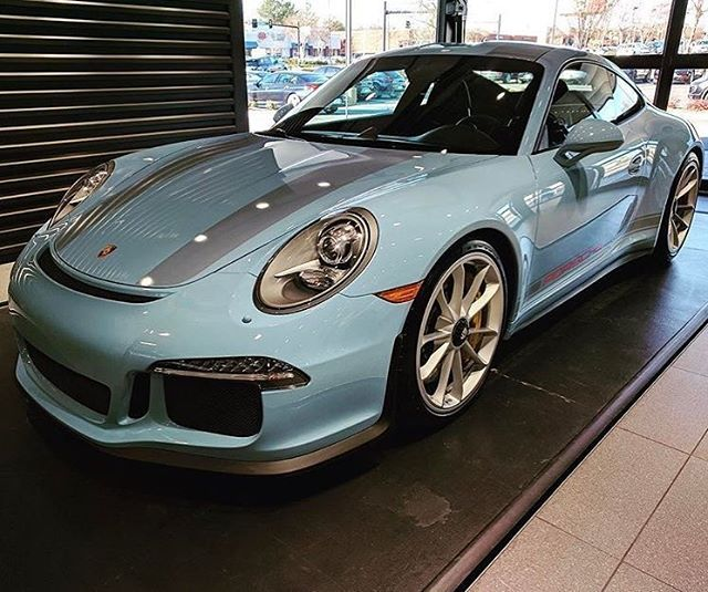 "1,815 Likes, 24 Comments - #PTSGT3 (@ptsgt3) on Instagram: ""I have officially found my favorite #painttosample 911 R. This #pts Gulf Blue variant is absolutely…"""