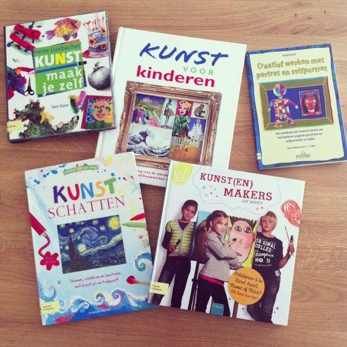 boeken kunst voor kinderen