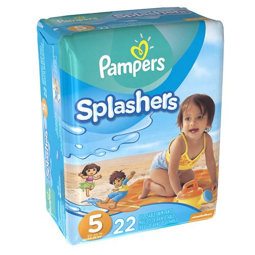 Pampers Splashers Swim Diapers Size 5