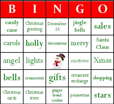 Best  Christmas Bingo Cards Ideas On   Christmas