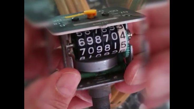 Odometro del velocimetro Chappy  LB 80 en  Ceros