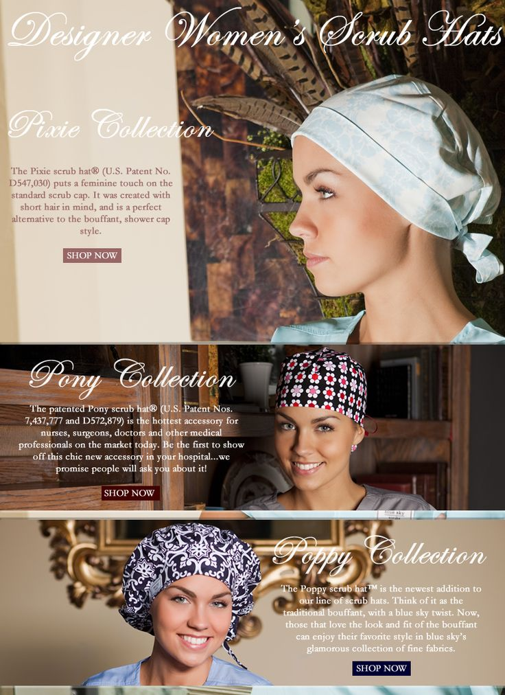 Love the Pony Collection-Women's Scrub Hats